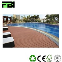 high strong quality wpc material outdoor waterproof wooden flooring