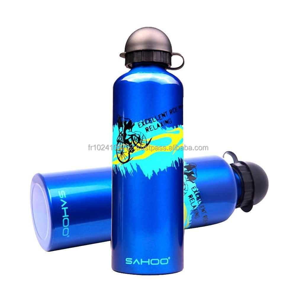 New Outdoor Bicycle Cycling Bike Cycle Water Bottle Aluminum alloy Sports 750ml
