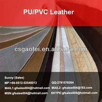 new PU/PVC Leather vacuum embossed pvc bag leather for PU/PVC Leather using