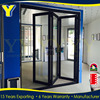 AS2047 Australia Standard Thermal-broken Aluminum Exterior Glass Soundproof Bifold Doors