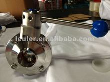 Stainless Steel Butterfly Valve welded/welded end 304/316L