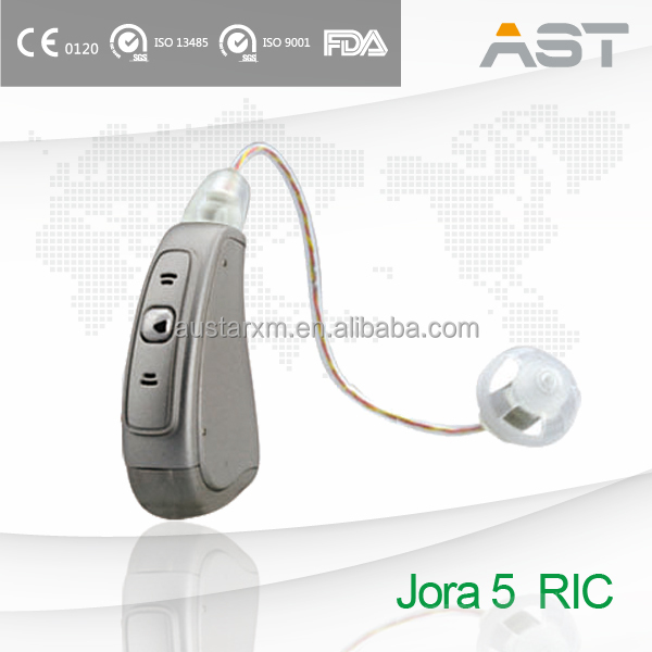 """Jora 5"" RIC personal sound amplifier for hearing impaired"