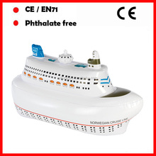PVC inflatable Cruise ship for kids