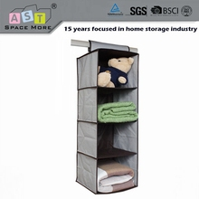 Quality durable better price household items hanging closet organizer
