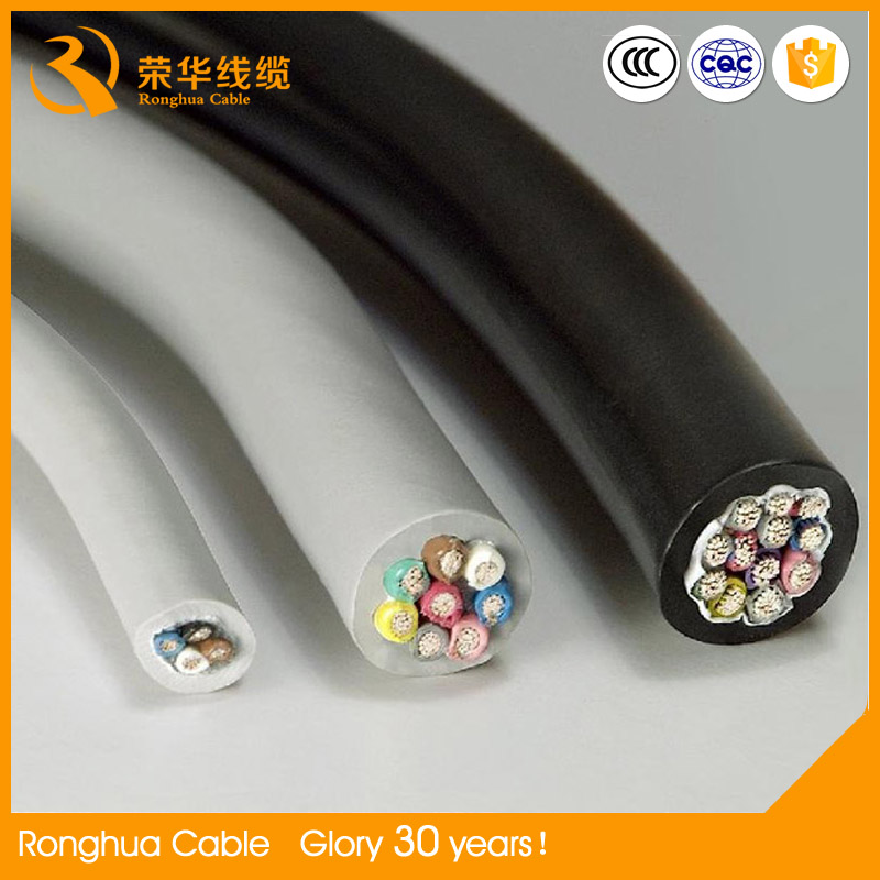 Plain annealed copper power cable 50mm2 Flame retardant PVC compound