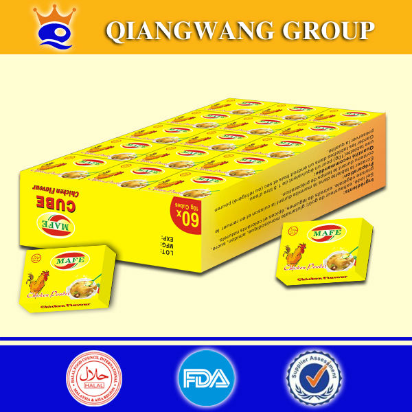 Stock bouillon cube brand chicken cubes