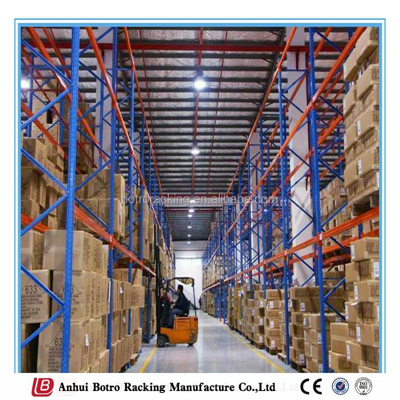 China Warehouse Management Steel Plate Storage Pallet Rack