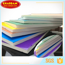 Craft work use paper foam board of top quality