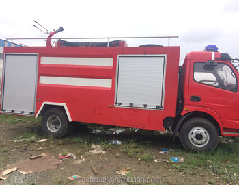 hot sale new condition fire fighting truck promotion
