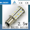 TUV CE Government order BA15s smd led car,car light bulb,super bright car led bulbs