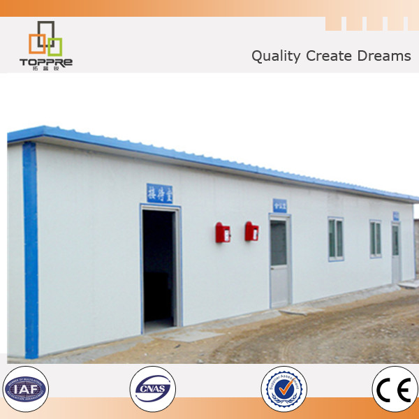 Qualified structure prefabricate kiosk modular sip prefab booth houses