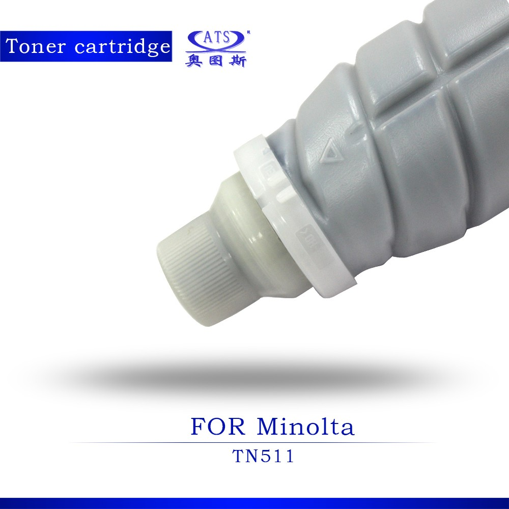 Copier toner cartridge TN511 for Konica Minolta c650 550 c-451 toner powder refilling cartridge