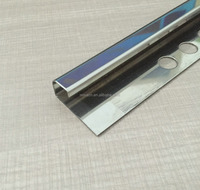 Stainless Steel Tile Trim for Ceramic Tile Border