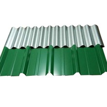 Construction Material Curved Corrugated Metal Roofing Sheet