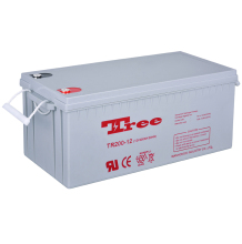 Maintenance Free Solar Battery 24v 200ah deep cycle battery
