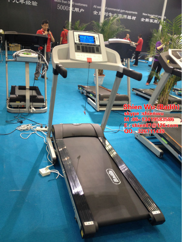 Touch Screen Motorized Home use Treadmill