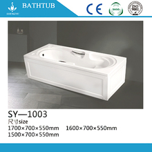 China Suppliers whirlpool jacuzzie massage bathtubs