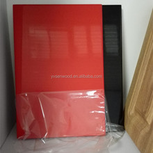 high gloss PVC wrapped MDF laminated MDF kitchen cabinet door