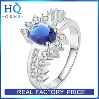 New style stylish engagement finger silver ring for women