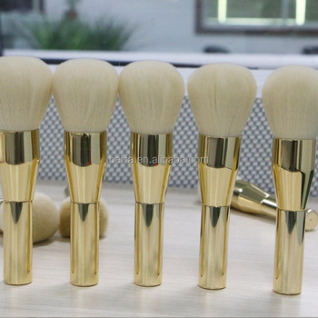 Belifa new products metal makeup brush in makeup brushes