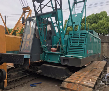 Sumitomo LS-118RH 50T crawler moving type crane made in 2012 used LS-238RH LS-108RH LS-208RH 100t 40t 80t CRANE for sale