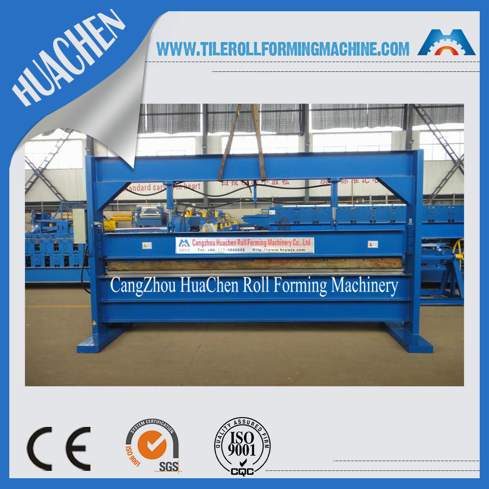 4m / 6m steel coil hydraulic/ manual sheet metal bending machine