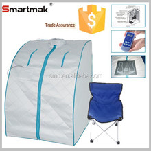 Smartmak Infrared One Person Sauna ,Mini Sauna Set