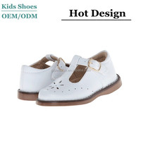 wholesale fall genuine leather shool shoes dress shoes mary jane buckle strap