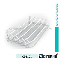 wall mounted foldable cloth hanging rack garment rack CD1101
