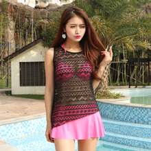 Shiny girl hot bathing sexy suits hollow lace swimsuit swimwear girl bikini swimming suit