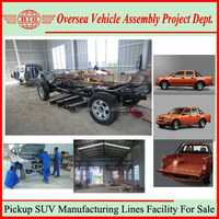 Pick Up Cars Roll Chassis Body Parts Sale And Assembly Technical Guide