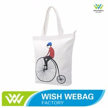 Factory Customized Wholesale 12oz cotton canvas tote bag