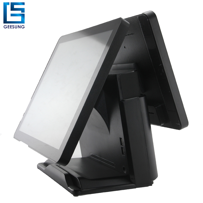 All In One Pc Pos Touch screen monitor pos system for cafe