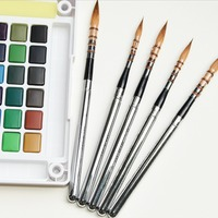 Premium Quality Miniature Hook Line Pen Fine Watercolor Paint Brush Set For Drawing Gouache Oil Painting Brush Art Supplies