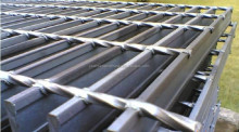 Twisted Steel for Steel Grating by Puersen