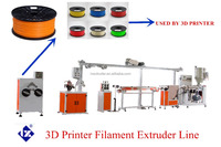 1.75mm and 3mm 3D Printer PLA/ABS Filament Extrusion Machine/Production Line