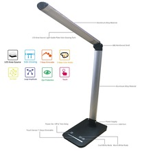 High LUX High Luminous CRI 90 Rotatable Dimmable Led Table Lamp Led Desk Lamp Color Temperature Mode With USB