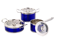 New Style 8 PCS Stainless Steel Casserole Set