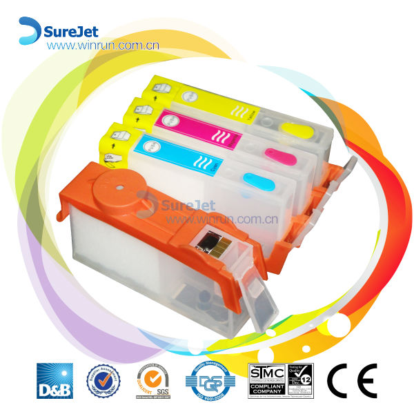 ink cartridge for hp4615 hp4625 hp3525 hp5525 with chip made in china