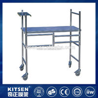 Excellent quality convenient to transport and store foldable aluminum mobile room scaffolding