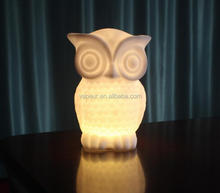 2017 Newest LED Owl baby night light Battery lamp For Kids