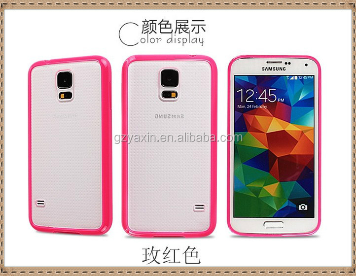 Free sample nontoxic tpu case for galaxy s5,Competitive factory cell phone case for Samsung Galaxy S5, fashion pc tpu case for S