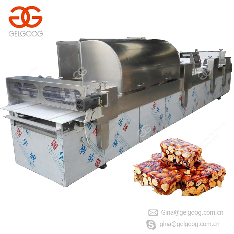 Protein Bar Cereal Bar Cutting Machine Peanut Candy Making Machine Granola Bar Production Line