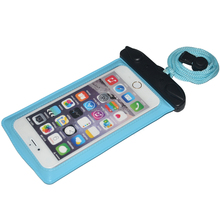 New Product ipx8 waterproof phone bag for iPhone with lanyard