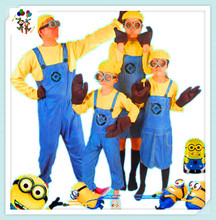 Cheap Unisex Adults and Kids Minions Party Costumes HPC-3145