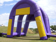 Arch buildings advertising Inflatables for use