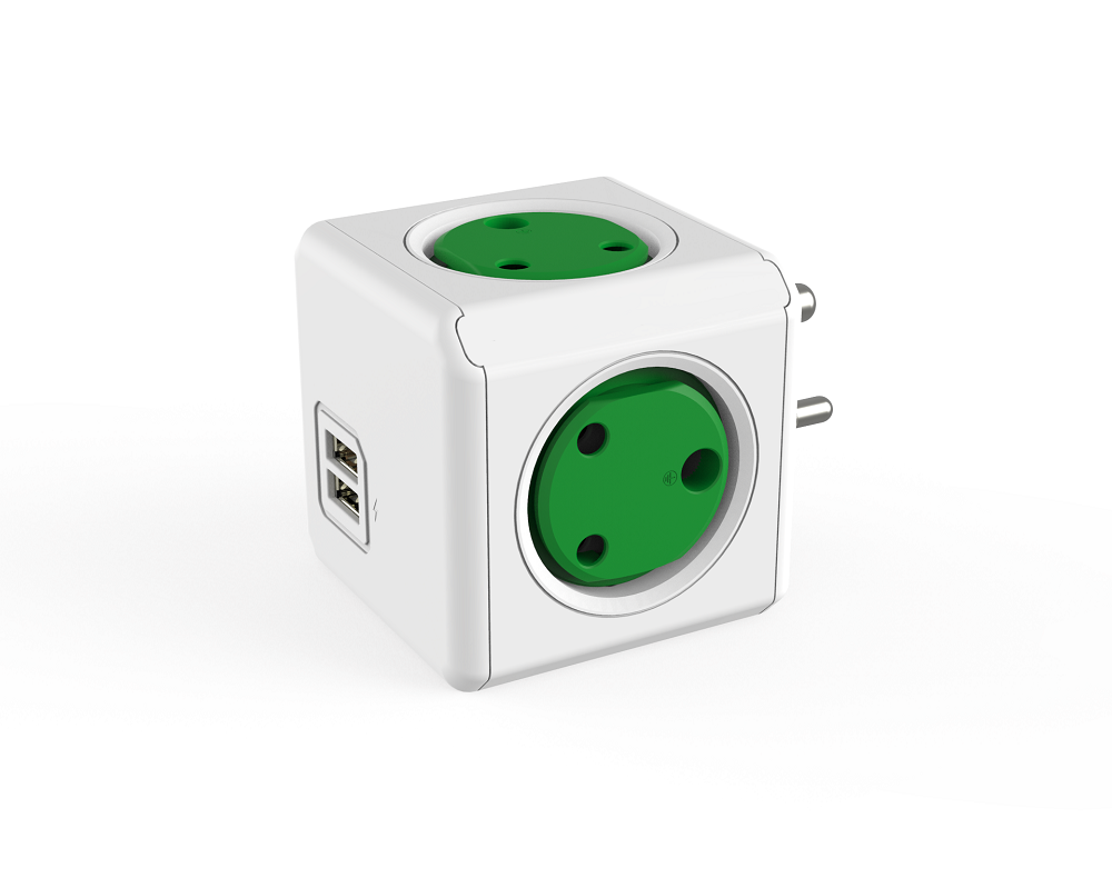 Power Cube With 4 Outlets 2 USB Port Wall Safe Plug Socket Alibaba Co ZA