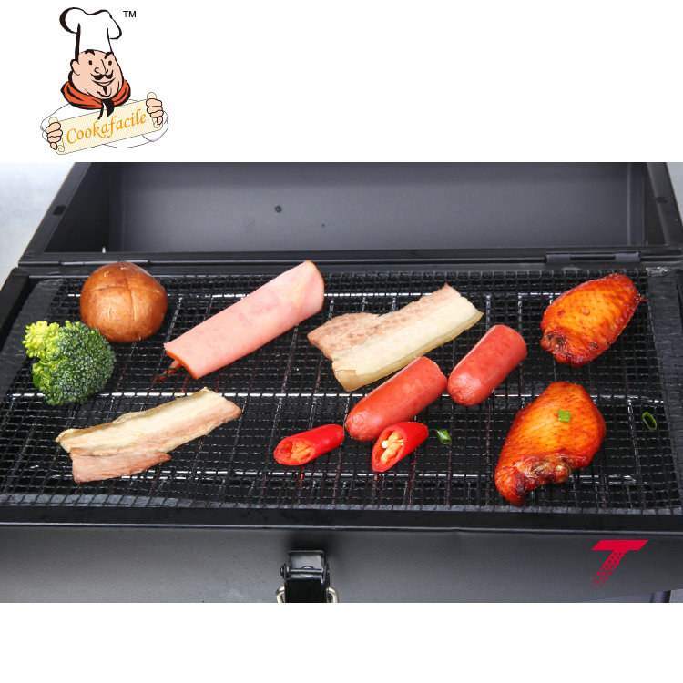 Hot Selling Food Grade non stick fiberglass bbq grill mesh