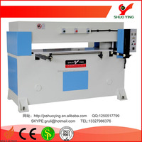 SYJ-3/60 60T CE and ISO certificated precision four-column hydralic plane cloth die cutting machine