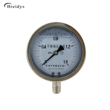 "(4"") Hot Sale All Stainless Steel Low Pressure Gauge For Oil And Gas"